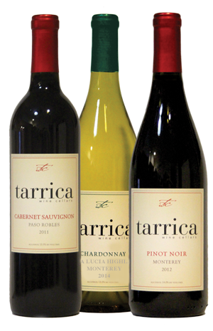 group bottle photo of tarica zinfandel, cabernet sauvignon and erlort