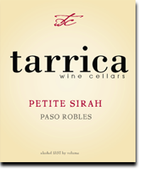 petite sirah from tarrica wine cellars
